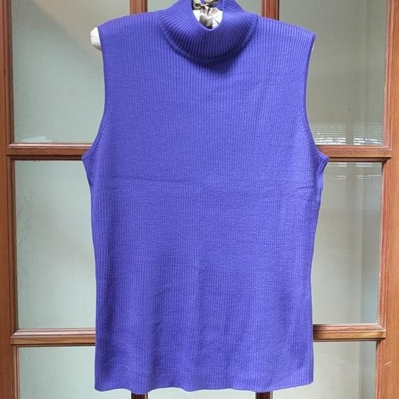 Dana Buchman Sweaters - Ladies Sleeveless Sweater